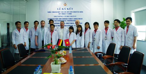 USM Healthcare Cooperation with other foreign company