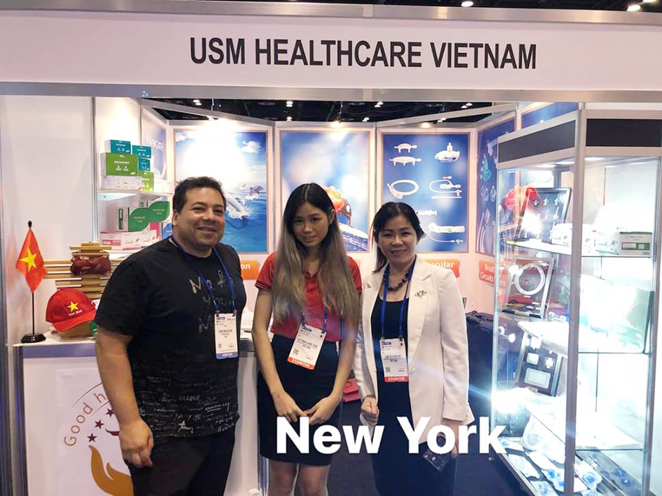 USM Healthcare with visitor from New York